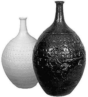 现代陶艺瓶 收藏的新亮点