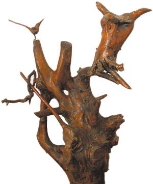 洋槐树根能做根雕材料吗