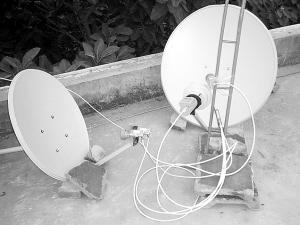 电视卫星锅信号质量差怎么调图片