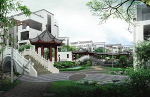 """尚林苑是邢台市第一家""""中式""""建筑,景观规划设计营造江南园林意境,&图片"""