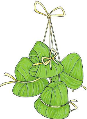 粽子人物图片简单可爱