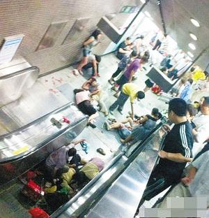北京地铁4号线动物园站自