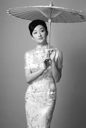 旗袍扣子纹样黑白手绘图片