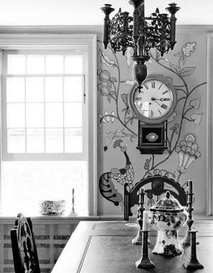 简单操作却充满童趣的手绘为室内墙面增色不少
