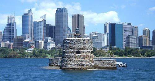 澳大利亚悉尼的丹尼森堡图片