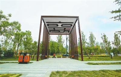 出门入游园散步闻花香 本市园林绿化建设入选全省城市管理十大典型案例
